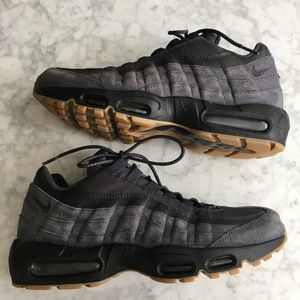 NIKE AIR MAX 95 – Anthracite/Black/Gum Men's 11